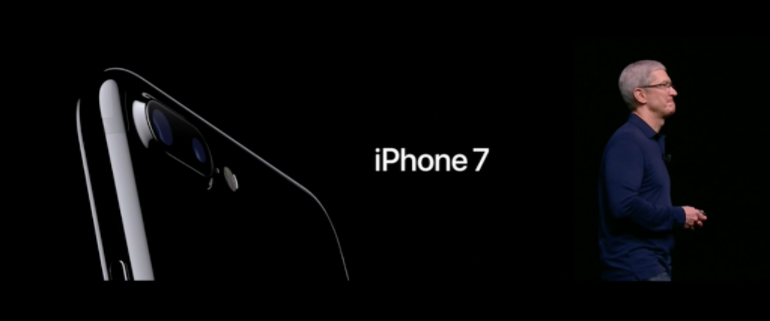 iPhone 7 angled