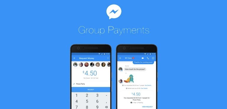 Facebook Messenger gets group payments feature