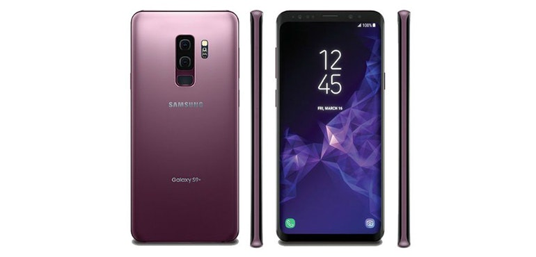 Samsung Galaxy S9 front, back and sides