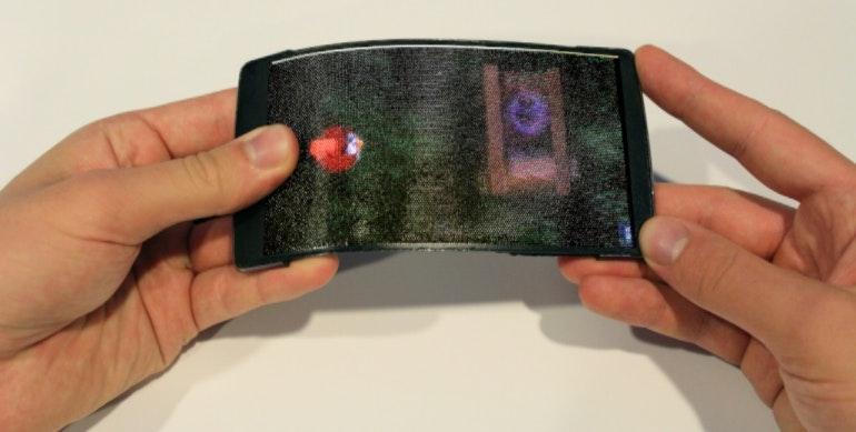 Holoflex concept phone