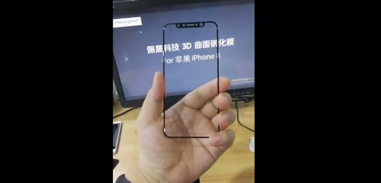 iPhone 8 screen protector gives clear look at Apple's plans