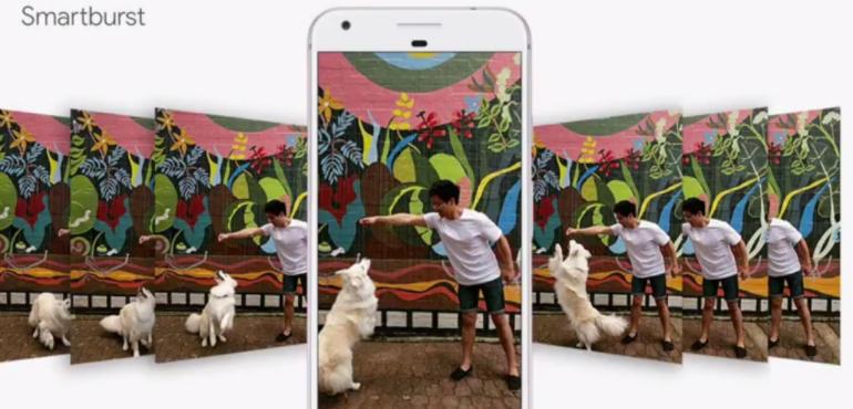 Pixel burst mode