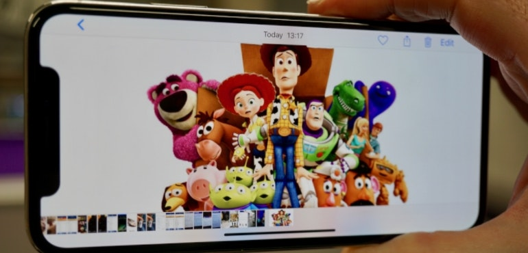 iPhone X Toy Story full screen hero size