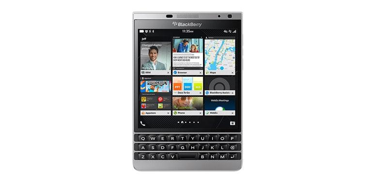 BlackBerry stops making phones