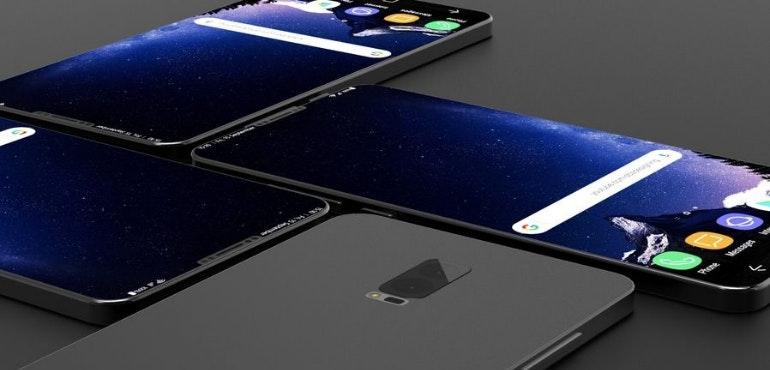 Samsung Galaxy S9 render hero size