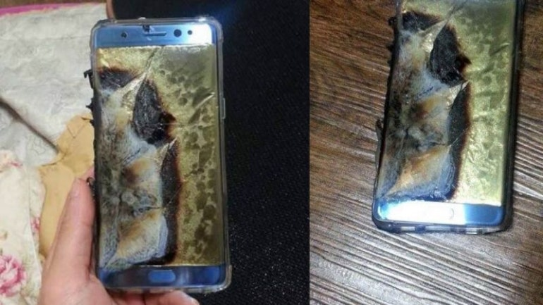 Samsung Galaxy Note 7 fire 2