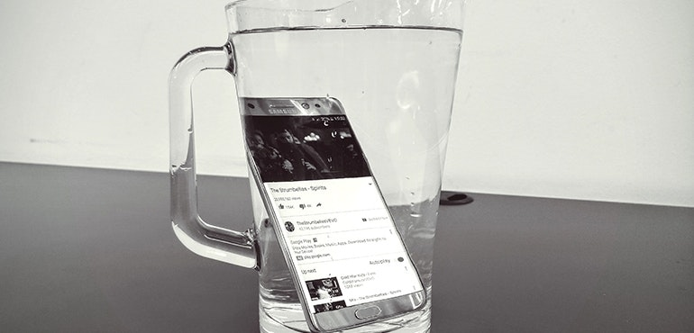 Samsung Galaxy Note 7 waterproof