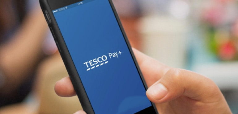 Tesco Pay+ app offers fast and easy checkout