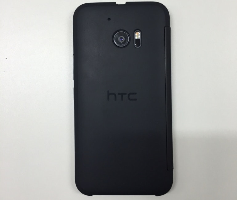 HTC 10 Ice View case back
