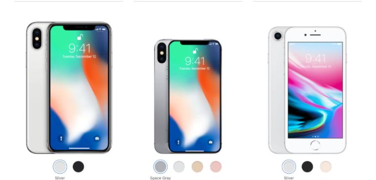 iPhone X 2018 renders