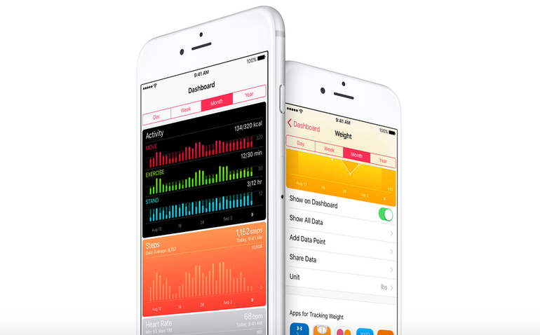 apple watch 2 health apps