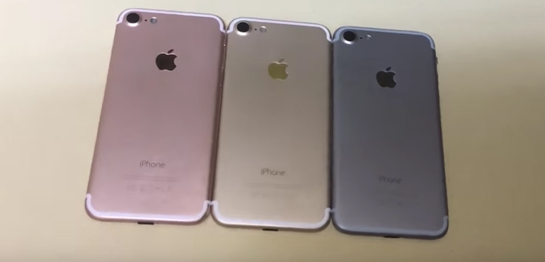 iPhone 7 stars in new video, black version pictured