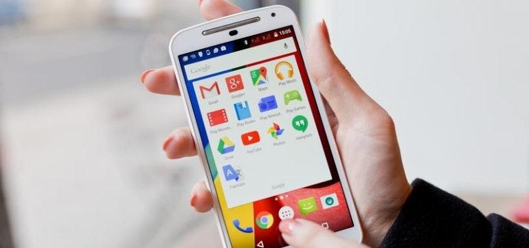 Android backup data using Google
