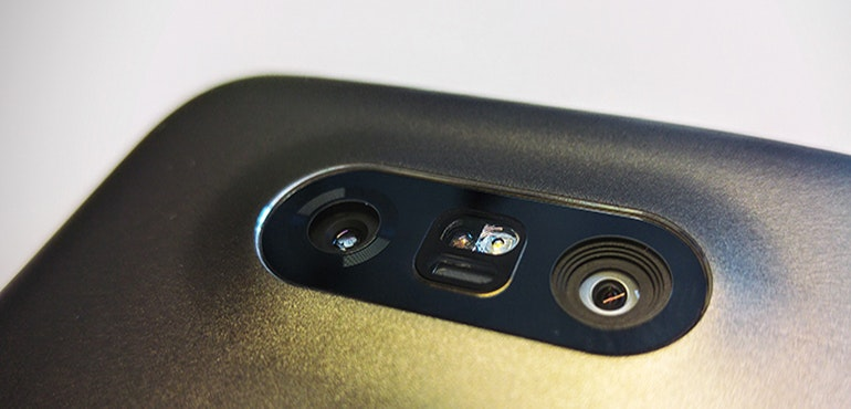 lg camera close up
