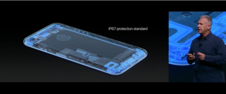 iPhone 7 waterproof ip67