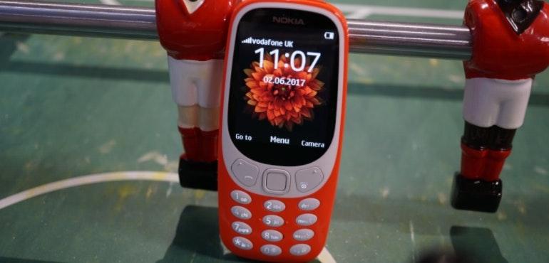 Nokia 3310 new table football hero size