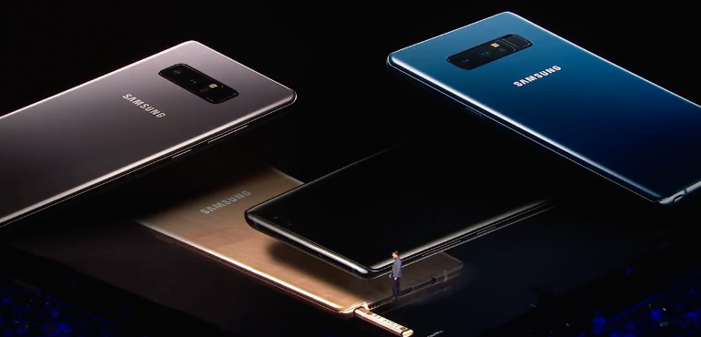 Galaxy Note 8 available on Samsung upgrade programme