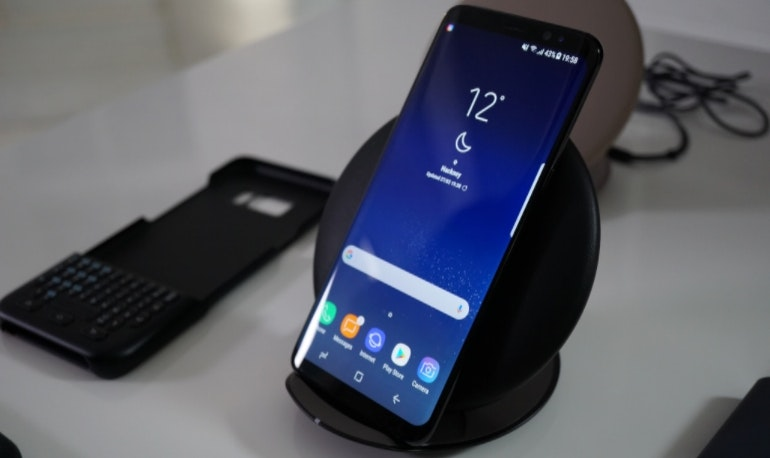 Samsung Galaxy S8 wireless charging