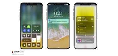 iPhone 8: new renders show off all–screen front