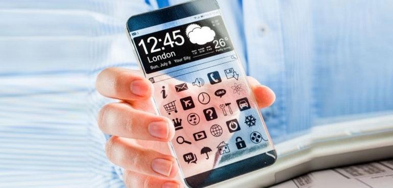 transparent phone future smartphone